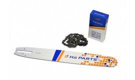 Schiene 40 cm + Kette 60 Glieder 3/8 1,6 mm für Stihl