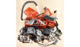 Komplettes Reparaturset geeignet für Husqvarna 371 372 372XP, 71cc