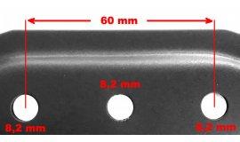 Messer für Elektro-Rasenmäher Bosch Rotak 37 cm Mähmesser